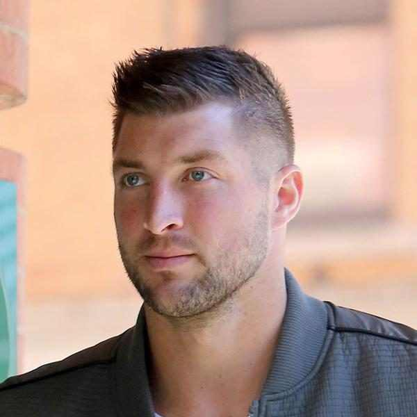 Incredible Tim Tebow From The Big Picture Short Hairstyles For Black Women Fulllsitofus