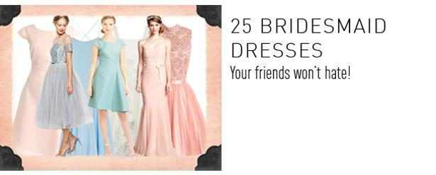 25 Bridesmaid Dresses Widget