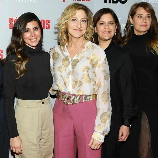 The Sopranos cast, Maureen Van Zandt, Kathrine Narducci, Annabella Sciorra, Jamie-Lynn Sigler, Edie Falco, Ilene S. Landress