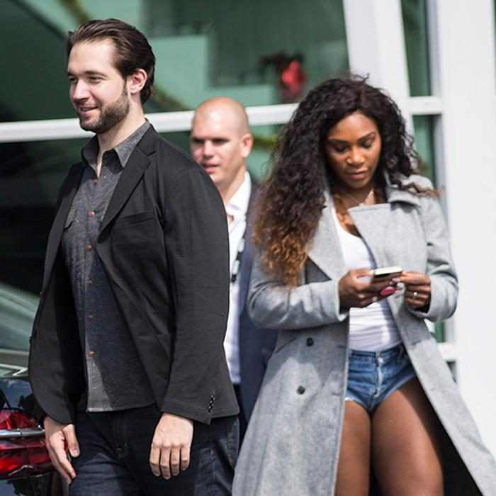 Serena Williams and her fiance Alexis Ohanian getting married on Thursday